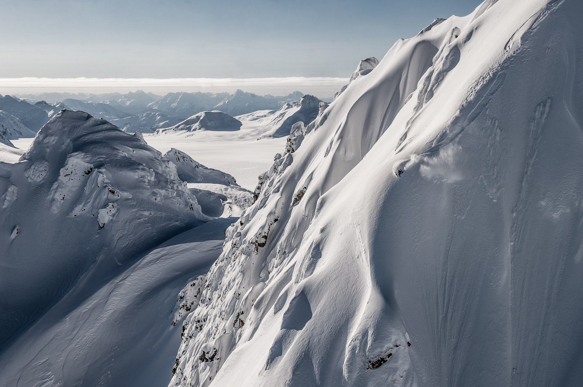Aasmund Thorsen skiing Tomahawk in AK for Supervention 2.